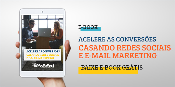 redes sociais e e-mail marketing